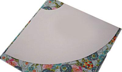 Как кроить юбку-полусолнце