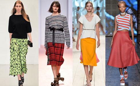 Выкройки модной летней юбки