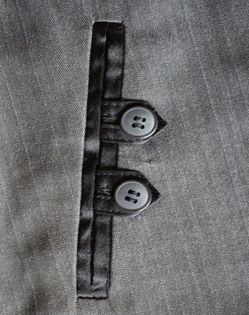 Карманы в рамку на юбку