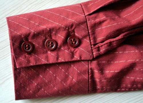Рукав женской блузки в готовом виде