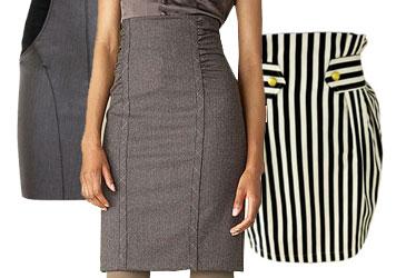 Крой классический юбки