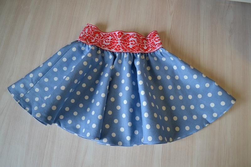 Мастер-класс пошива юбки-солнце на резинке