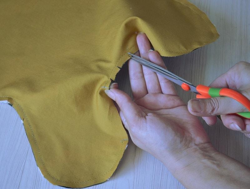 Детская летняя панамка своими руками, шаг 7