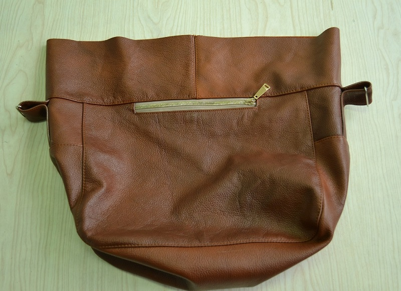 Отделочная строчка обтачки сумки