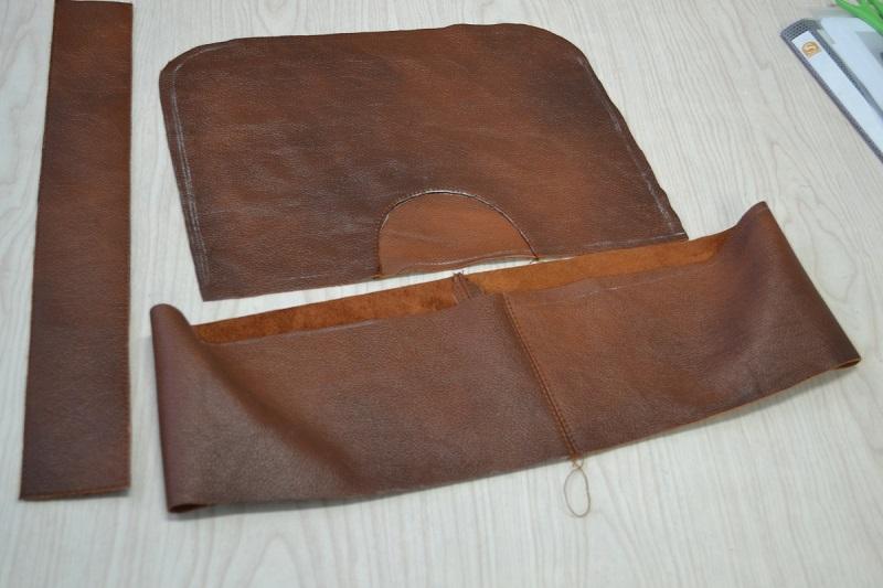 Обтачка для молнии сумки