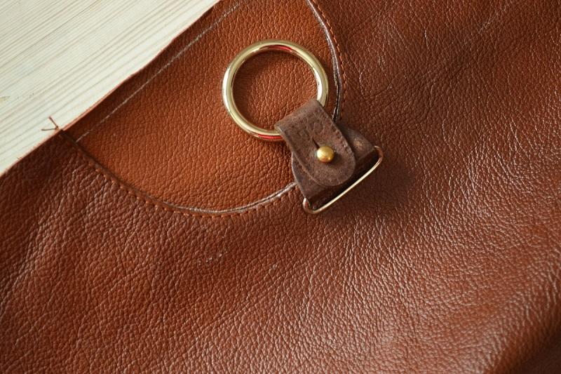 Крепление в виде кольца для плетеной ручки