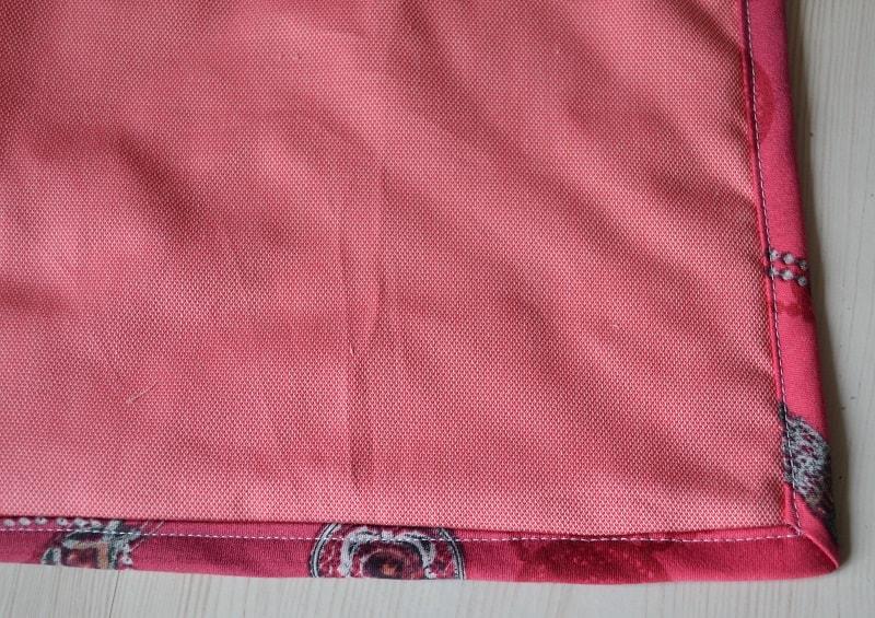 Лицевая сторона одеяла