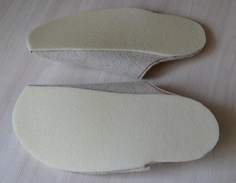 Как сделать силиконовую подошву на тапочки своими руками 15