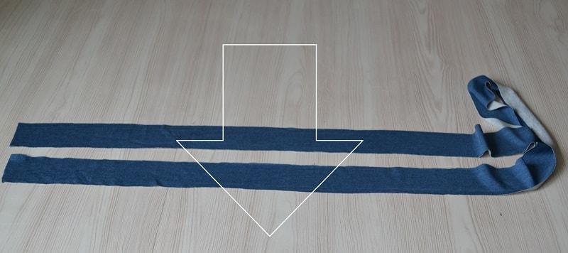 Как сшить женскую футболку из трикотажа, шаг 3