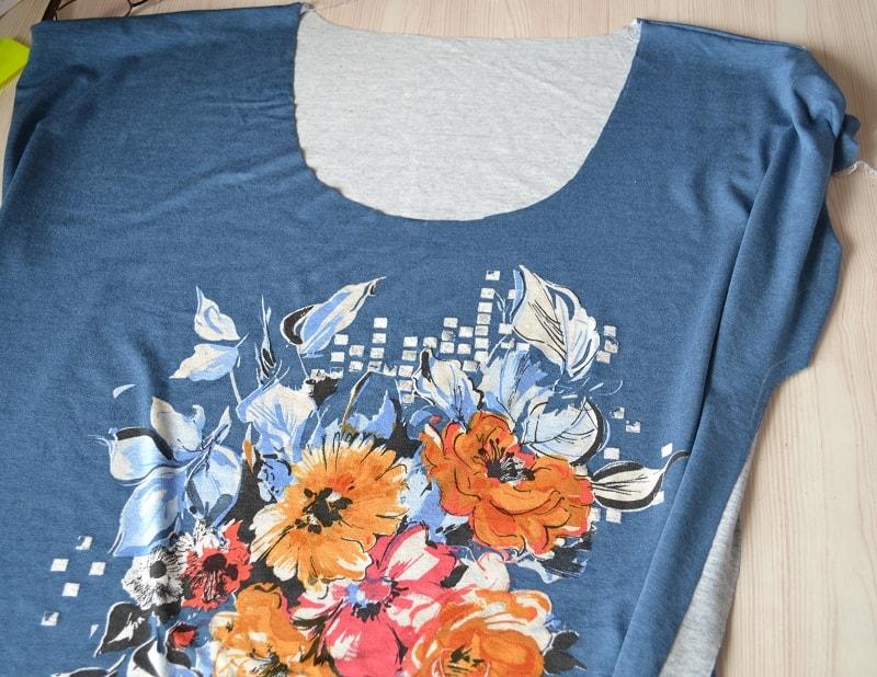 Как сшить женскую футболку из трикотажа, шаг 6