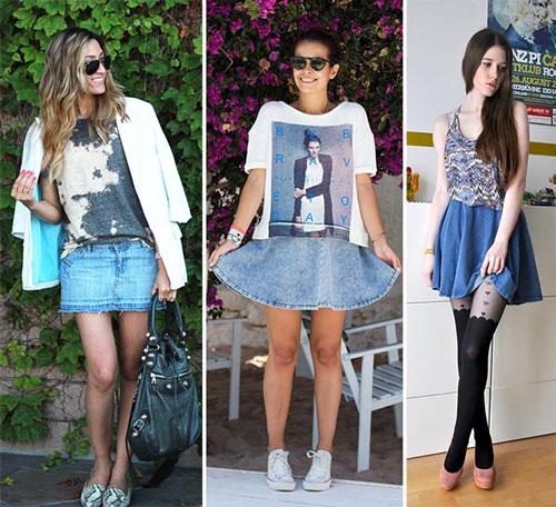 Модели юбок современных