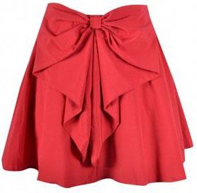 Выкройка банта для юбки