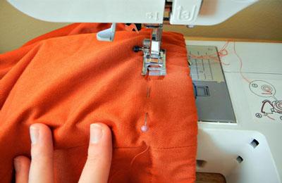 Технология пошива юбки-солнце