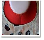 Обработка горловины и проймы платья косой бейкой