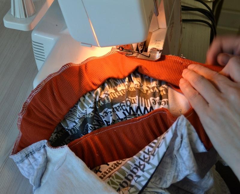 Как сшить шорты из трикотажа, фото 28