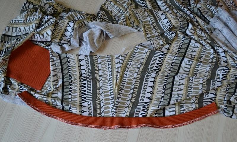 Как сшить женскую футболку трикотажа, фото 12