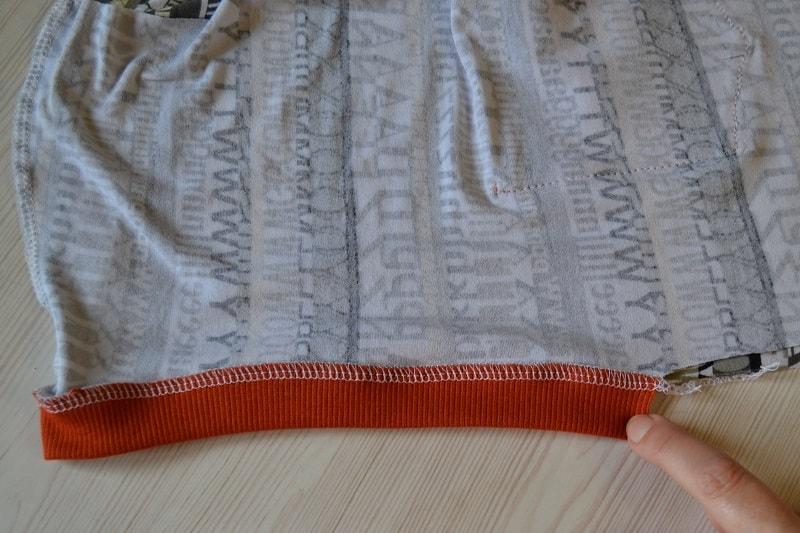 Как сшить женскую футболку трикотажа, фото 13