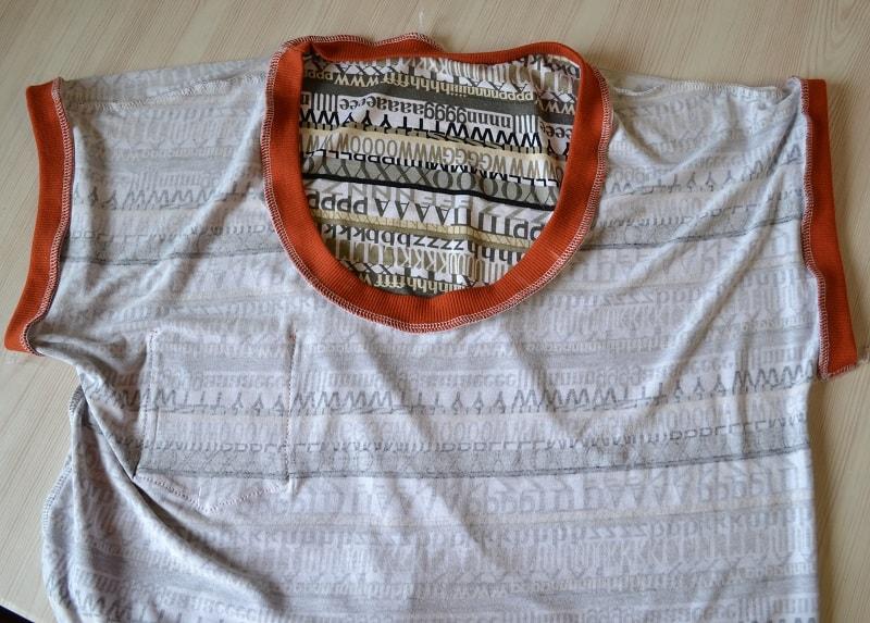 Как сшить женскую футболку трикотажа, фото 21