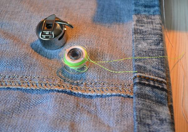 Как подобрать джинсовые нитки