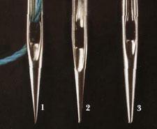 Стандартные иголки для швейных машин