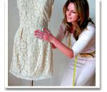 Пошив платья - первая примерка
