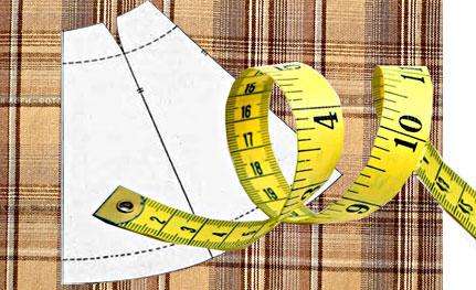 Как рассчитать расход ткани