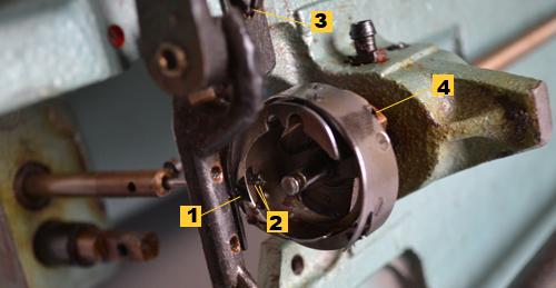 Швейная промышленная машина 22 класса
