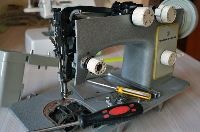 Ремонт швейной машины Чайка