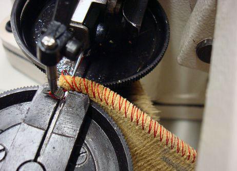 Как сшивать мех на скорняжной машине