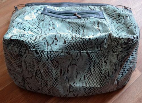 Цельнокроеное донышко сумки