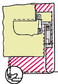 Обработка прорезных карманов брюк