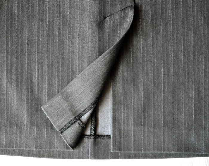 Обработка шлицы в юбке подкладом видео