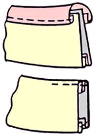 Воротник стойка платье обработка