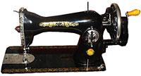 Швейная машинка для подшивания джинсов
