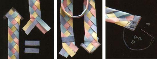 Застежка для плетеного пояса