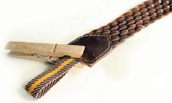 Застежка для плетеного ремня