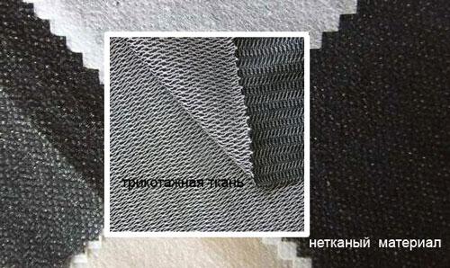 Клеевые материалы бывают ткаными и неткаными