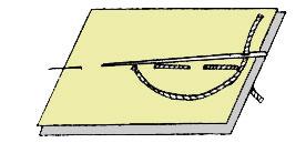 Сметочный ручной шов
