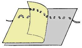 Силки или копировальный шов