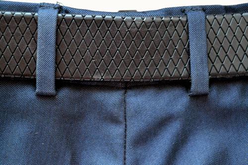 Как пришить шлевку на юбке