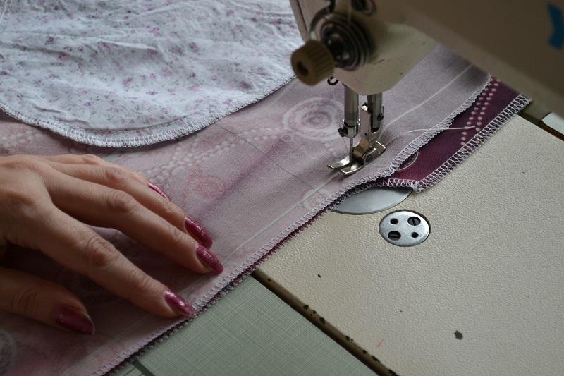 Как вшить джинсовую молнию в юбку