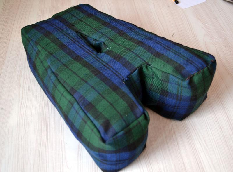 Чем наполнить букву-подушку