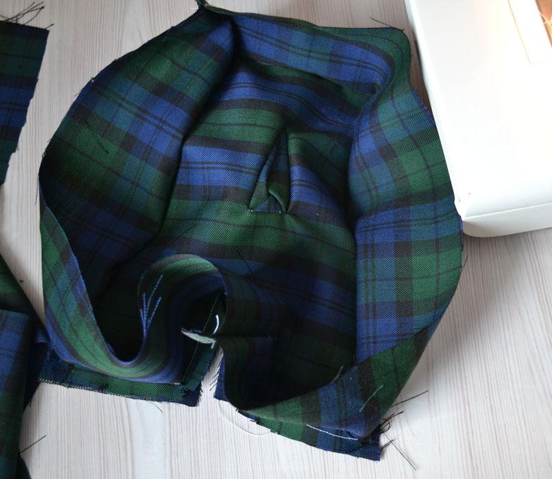 Как пришивать вторую половинку мягкой подушки