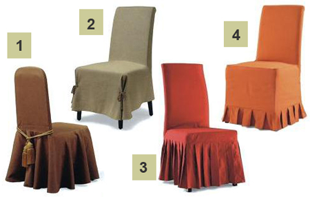 Как сшить чехол на стул своими руками