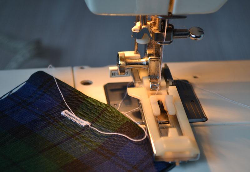 Как сделать петлю для пуговицы на швейной машинке