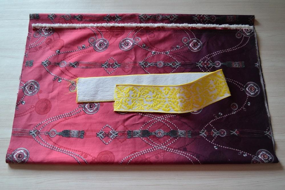 Как сшить юбку-солнце на резинке для девочки, шаг 1