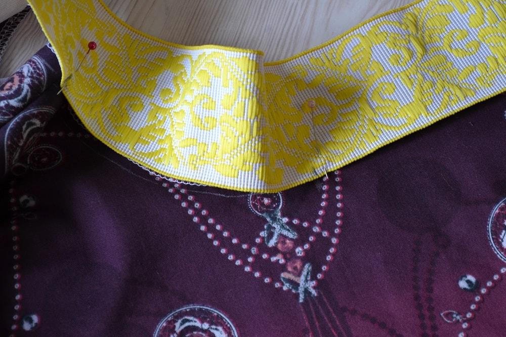 Как сшить юбку-солнце на резинке для девочки, шаг 10