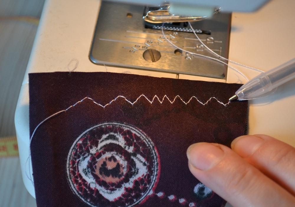 Как сшить юбку-солнце на резинке для девочки, шаг 12