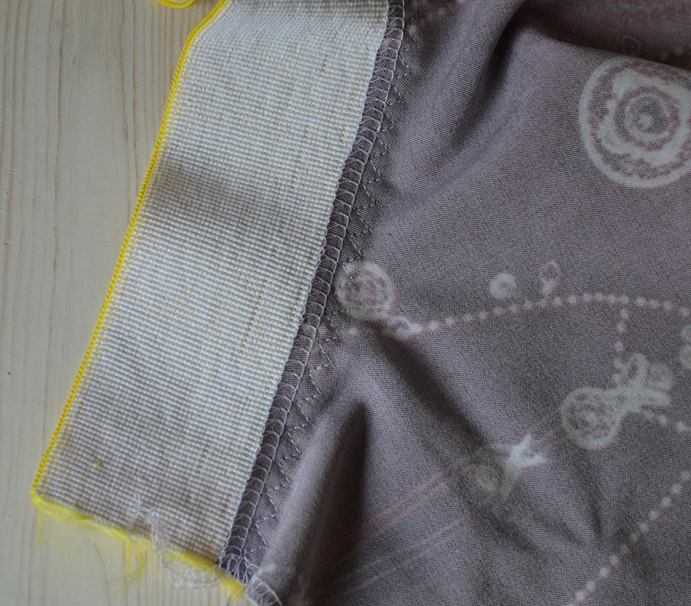 Как сшить юбку-солнце на резинке для девочки, шаг 15