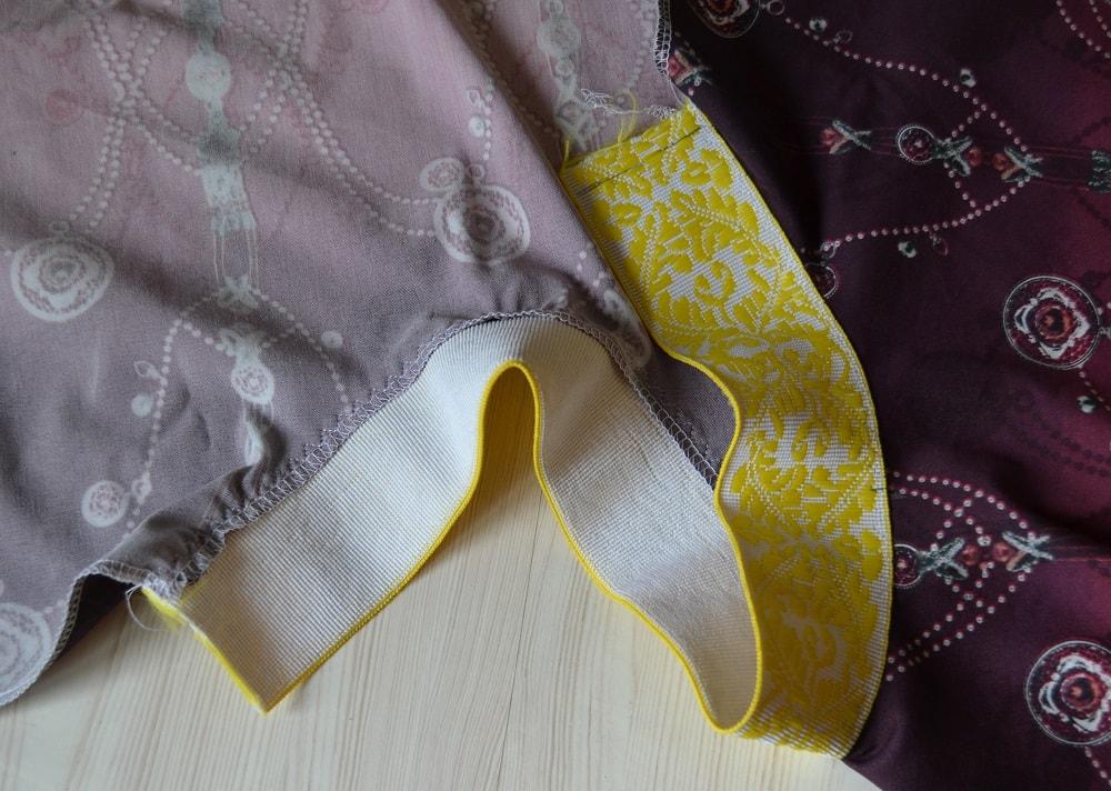 Как сшить юбку-солнце на резинке для девочки, шаг 16